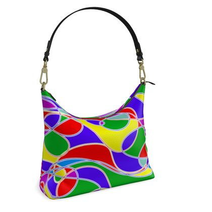 Square Hobo Bag for Sunny Days Out & About