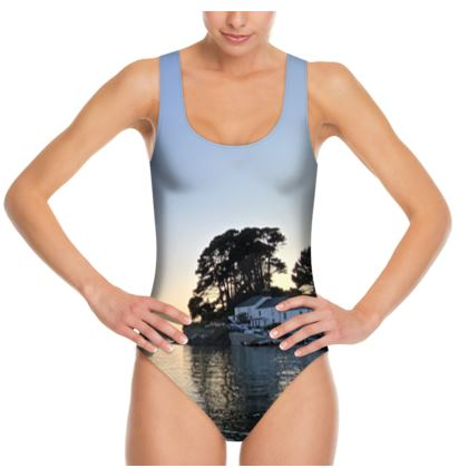 Friday Evenings at the Ferry Boat Swimsuit