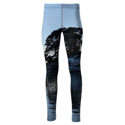 Friday night at the Ferry Boat Leggings