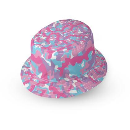 Unicorn Camo Pattern Bucket Hats