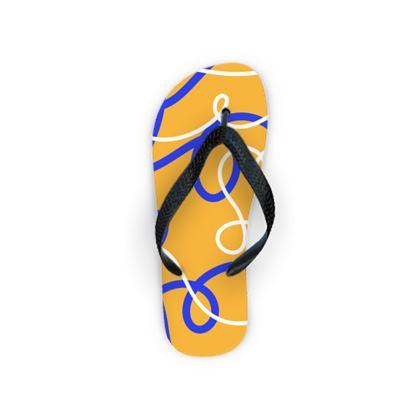Flip Flops - Loopy Lounging