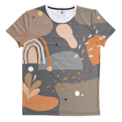 All Over Print T Shirt Abstract 01