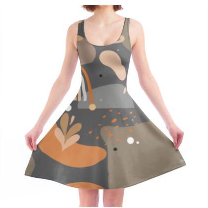 Skater Dress Abstract 01