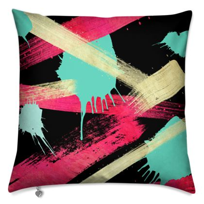 Cushions Graffiti Glow
