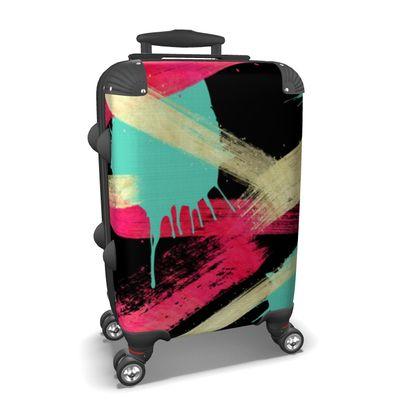 Suitcase Graffiti Glow