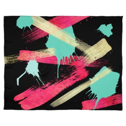 Scarf Wrap Or Shawl Graffiti Glow