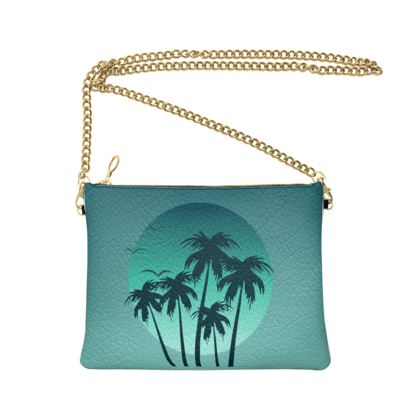 Crossbody Bag With Chain Miami Vibes