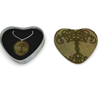Celtic Tree of Life Sterling Silver Necklace