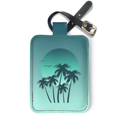 Luggage Tags Miami Vibes
