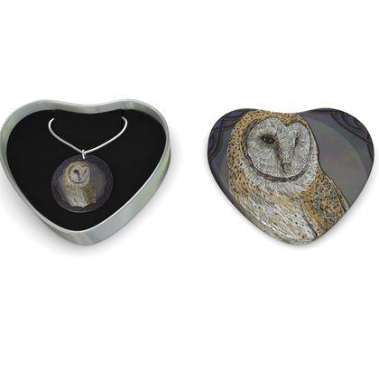 Celtic Owl Sterling Silver Necklace