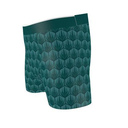 Palm Deco Pattern Boxer Briefs