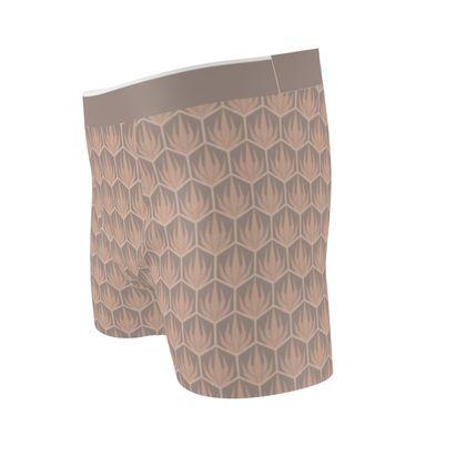Palm Deco Pattern ~ Desert Oasis Boxer Briefs