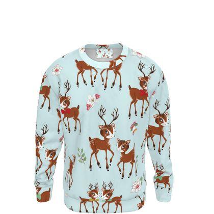 Vintage Reindeer Family Sweatshirt