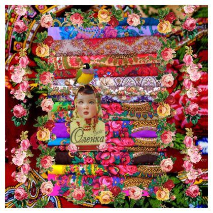 Flower Child Fabric Printing