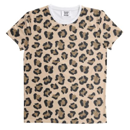Leopard Print All Over Graphic Tee