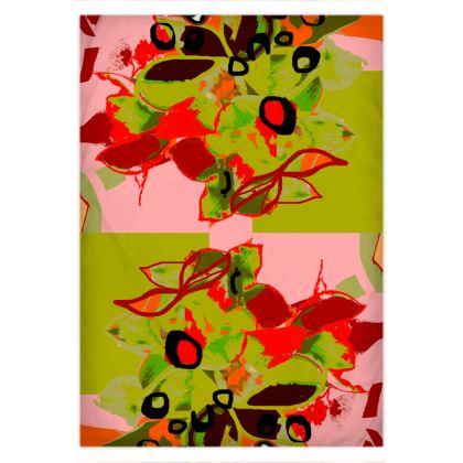 Winter Green Bouquet Duvet Covers