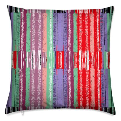 Red Lines Cushions