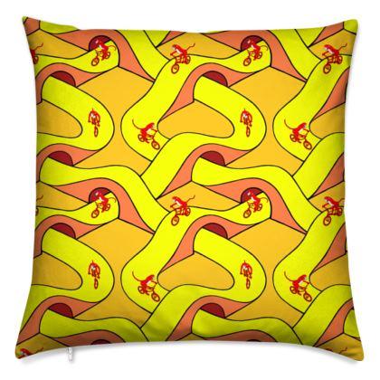 Monkey BMX Cushion