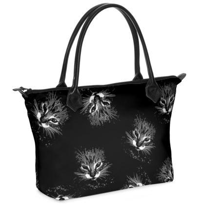 BB Catling Zip Top Handbag