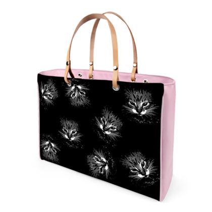 BB Catling Handbag leather