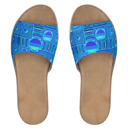 Sandali in pelle linea Smeraldo