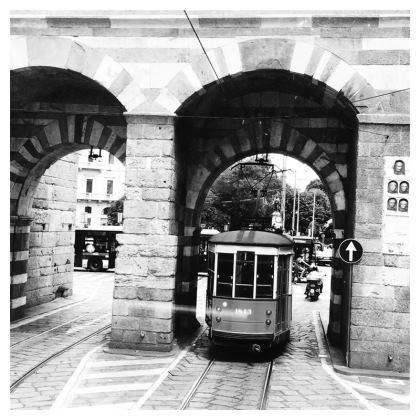 Tram in Milan - Coasters