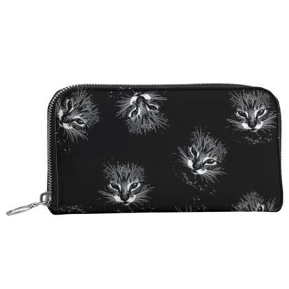 BB Catling leather Zip purse