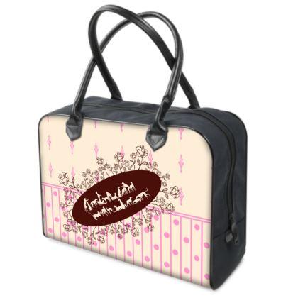 Reisetasche mit Windhund-Motiv
