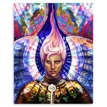 Rampel - Angel of Endurance Metal Print