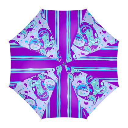 Bedruckter Regenschirm