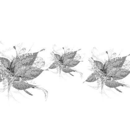 Luggage Strap - Bagageband - White Lace White