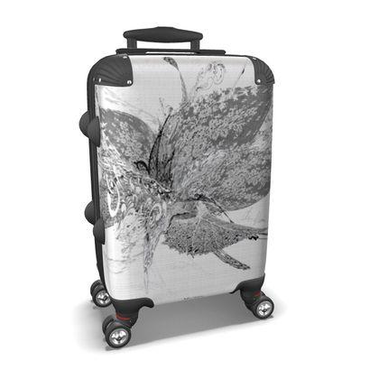 Suitcase (hand luggage) - Resväska  (handbagage) - White Lace White