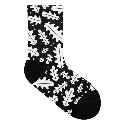 Oak Leaves Socks
