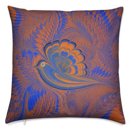 Cushions, Bird of Ray