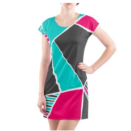 Ladies Tunic T Shirt Capri Constanzo