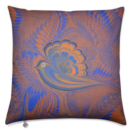 Luxury Cushions, Bird of Ray