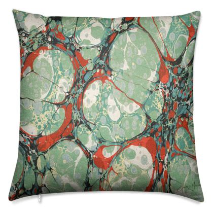 Luxury Cushions, Green Cell