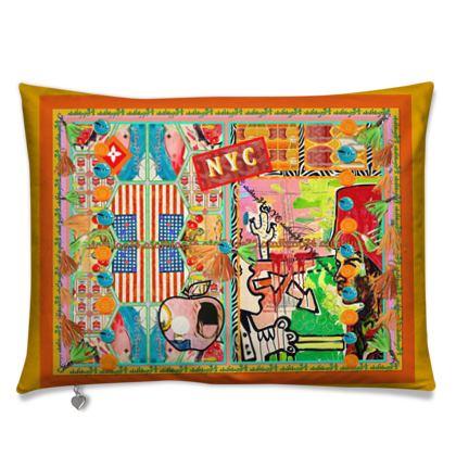 Kissen 55 x 40 cm NEW YORK CITY luxus