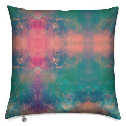 Cushion - Emmeline Anne Colourful Clouds