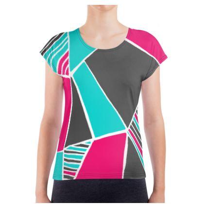Ladies T Shirt Capri Constanzo