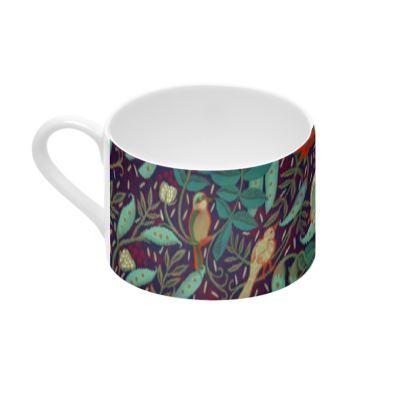 Tasse à café jardin médiéval