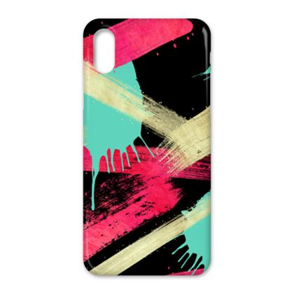 IPhone X Case Graffiti Glow