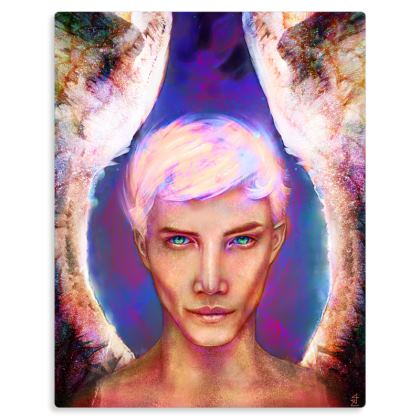 Uriel - Archangel of Creativity Metal Print