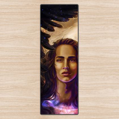 Israfel - Angel of Song Yoga Mat