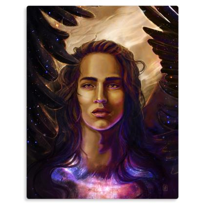 Israfel - Angel of Song Metal Print