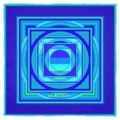 Foulard artistico linea Smeraldo