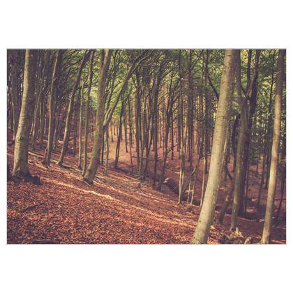 Magischer Wald auf Stoff
