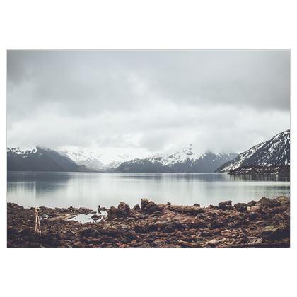 Lake Garibaldi auf Stoff