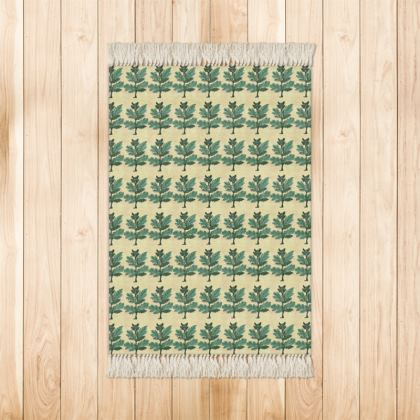 'Vervayne' Rug in Cream and Green