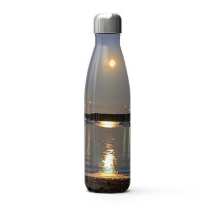 Full moon at Grebe Thermal drink bottle